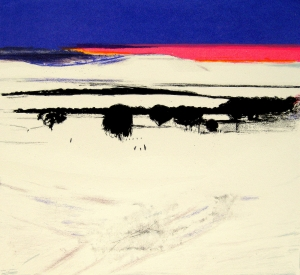 Tracks in Snow, Horizons series of prints, PSW
